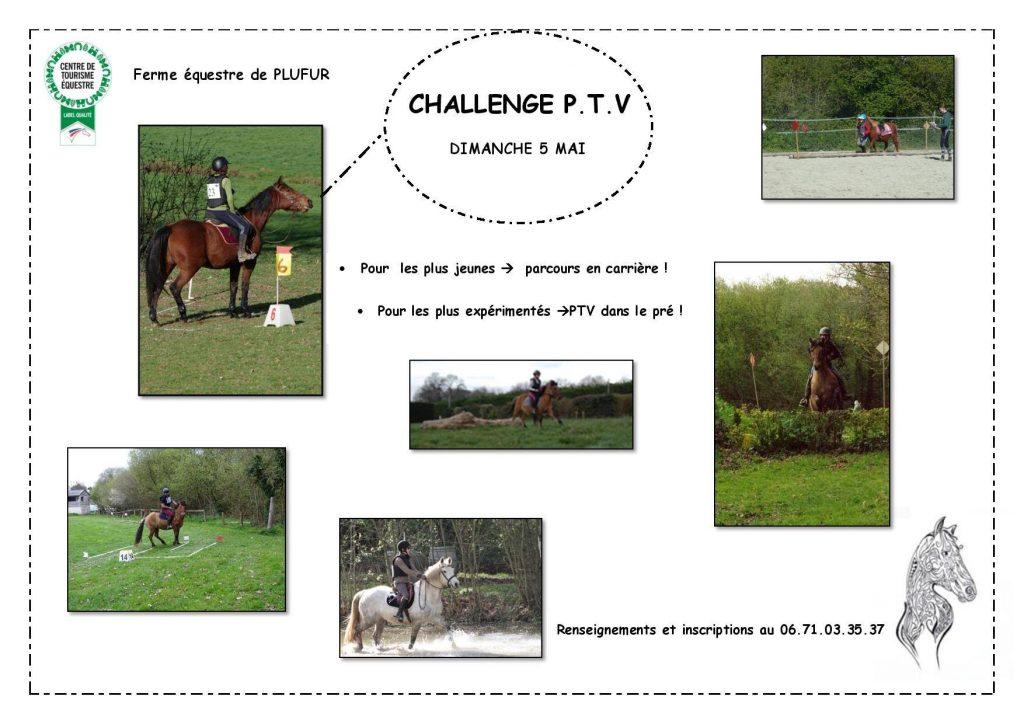 Challenge PTV (Parcours en Terrain Varié) - Ferme équestre de Kerbiriou